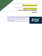 1 1 Plan Desarrollo Software Usuario