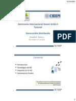 Curso CIIEPI 2013_Generacion Distribuida