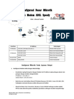 Konfigurasi Mikrotik Dasar Hotspot Dan Warnet