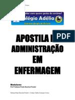 Noções de Adm de Unidades de Enfermagem - Prof. Rita