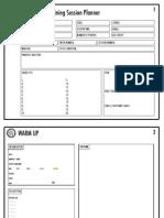 NFDP Session Planner