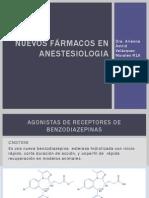 Nuevos Fármacos en Anestesiologia