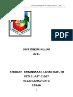 Jawatankuasa Induk Kokurikulum Sekolah 2011-Baru