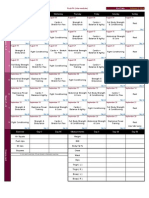 RushFit (Intermediate) Schedule