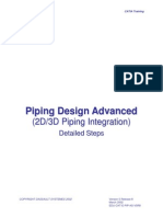 Catia Training - Piping Design Advanced