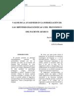 Anamnesis e Hipotesis Diagnóstica