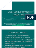 Employers Rights Under Labour Laws