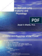 Chest Wall,Lung Anatomy and Physiology