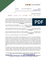 Copy of Dec 3rd 09 Oxyzen Market Report