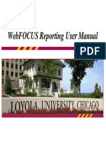 Web Focus Training