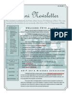 Alumni Newsletter 2014 Vol2