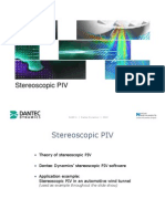 Stereoscopic PIV Educational Slide Show
