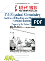 Section 4B  Bonding and Structure II (Covalent Bonding)