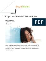20 Tips to Be Your Most Authentic Self