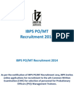 IBPS PO/MT Coaching in Chandigarh