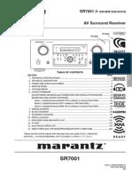Marantz SR7001 Rec