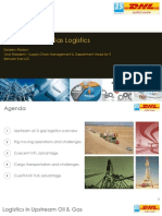 Forum - Upstream Oil & Gas Logistics - July2014 - SanjeevMadavi