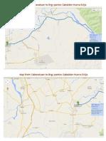 Map to Brgy Pantoc Nueva Ecija
