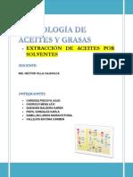 Extraccion de Aceites Por Solventes
