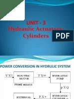 L7- Hydraulic Cylinders