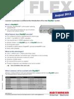 Customer Information FlexRET