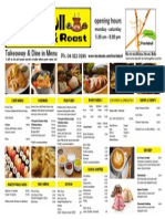 Feastabull Menu