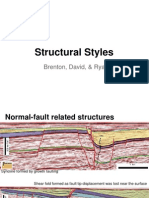 Structural Styles in Seismic