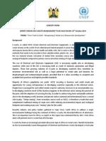 EXPERT FORUM Concept Note_Nairobi 2014