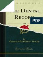 The Dental Record v4