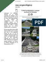Palenque (Zona Arqueológica)
