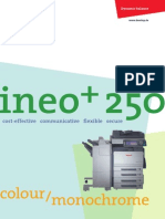 Brochure Ineo 250 Eng A4