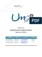 Proyecto Final - Exportaciones e Importaciones