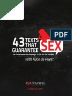 Bonus 6 - 43 Texts Cheat Sheet