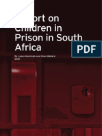 Report on Children in Prison in South Africa