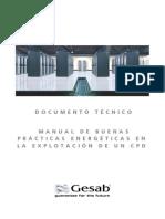 Documento Técnico - Manual de Buenas Prácticas Energéticas Para La Explotación de Un Cpd