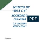 La Cultura Educativa - Proyecto.docx