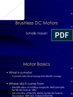 Sohaib Hasan - Brushless DC Motors