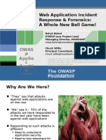 OWASPAppSec2006Seattle_WebAppForensics