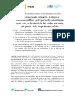Np Red.es_ Informe Ontsi 24 07 14