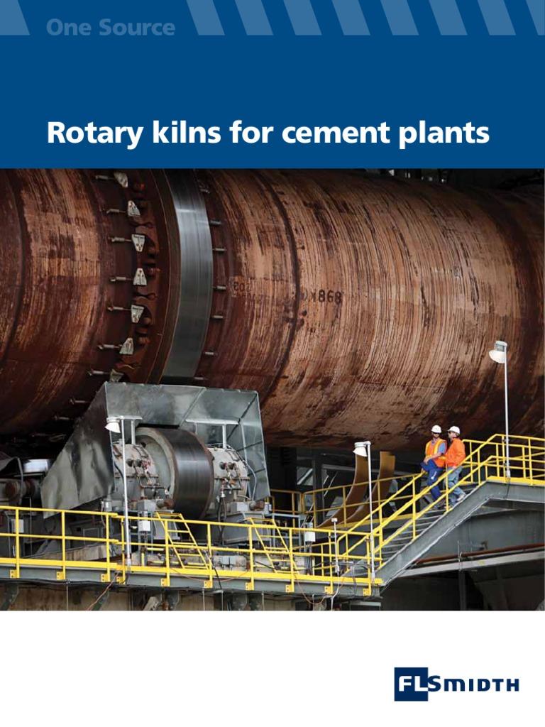 World Larest S Cement Plant : Rotary kilns for cement plants transmission mechanics