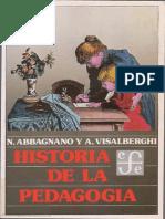 Abbagnano, N. & Visalberghi, A. (1992). Historia de la pedagogía. Fondo de Cultura Económica