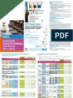 Cursos Frances General 2014 2015