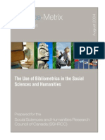 SM 2004 008 SSHRC Bibliometrics Social Science