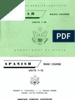 Fsi SpanishBasicCourse Volume1 StudentText