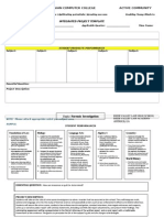 Integrated Project Template