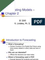 Quantitative Forecasting Methods 1