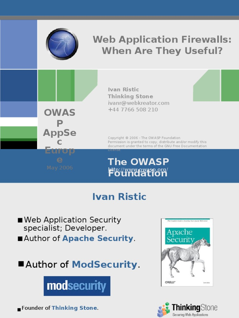 Apache Security Ivan Ristic Pdf