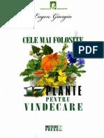 Eugen Giurgiu - Cele Mai Folosite 17 Plante Pentru Vindecare