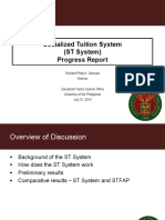 ST System Progress Report - July 31 BOR Meeting