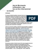 A caminhada do Movimento Feminista Brasileiro